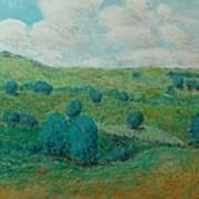 Dry Hills Art Print
