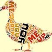 Duck Humor Art Print