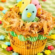 Easter Cupcakes  Art Print