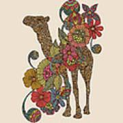 Easy Camel Art Print