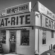 Eat Rite Diner Route 66 Art Print