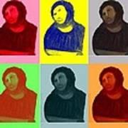 Ecce Homo - Warhol Style Art Print