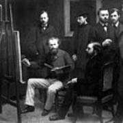 Edouard Manet (1832-1883) Art Print