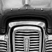 Edsel Corsair Grille Emblem Art Print