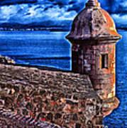 El Morro Fortress Print by Thomas R Fletcher