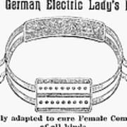 Electric Belt Ad Art Print