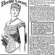 Electric Corset, 1882 Art Print