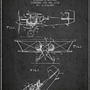 Emergency Flotation Gear Patent Drawing From 1931 Art Print by Aged Pixel