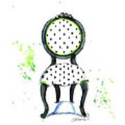 Emma Chair Art Print