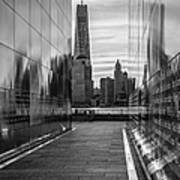 Empty Sky Memorial And The Freedom Tower Art Print