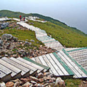 End Of Skyline Trail In Cape Breton Highlands Np-ns Art Print