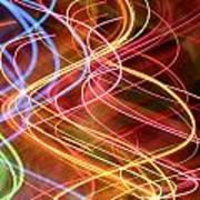 Energy Lines Art Print