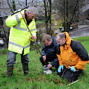 Environmental Soil Monitoring Art Print
