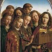 Eyck, Jan Van 1390-1441 Eyck, Hubert Art Print by Everett