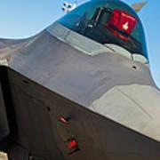 F-22 Raptor Jet Art Print