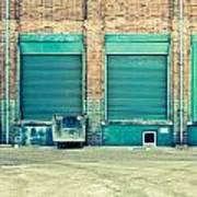 Factory Doors Art Print