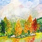 Fall2014-9 Art Print by Vladimir Kezerashvili