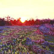 Farley Sunset Art Print