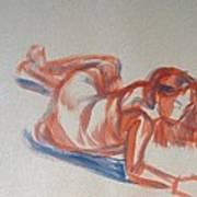 Female Figure Painting Art Print