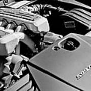 Ferrari 599 Gtb Engine  Art Print