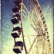 Ferris Wheel In Paris Art Print