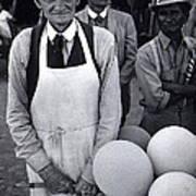 Film Homage Balloon Vender Extra The Great White Hope 1970 Globe Arizona 1969-2008 Art Print