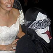 Film Homage Bela Lugosi Ed Wood Bride Of The Monster 1955 Halloween Party Casa Grande Arizona 2005 Art Print