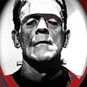 Film Homage Boris Karloff The Bride Of Frankenstein 1935 Publicity Photo 1935-2012 Art Print