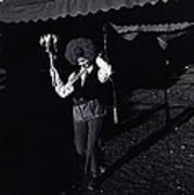 Film Homage Charlie Chaplin The Circus 1928 Clown Strong Circus Bisbee Arizona 1980 Art Print