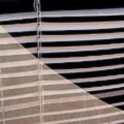 Film Noir Double Indemnity 2 1944 Broken Glass Window Venetian Blinds Casa Grande Arizona 2004 Art Print