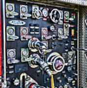 Fireman Control Panel Art Print