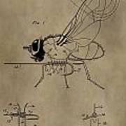 Fishing Fly Patent Art Print