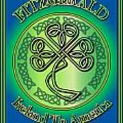 Fitzgerald Ireland To America Art Print