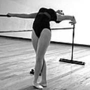 Flexibility Bw Art Print