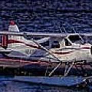 Float Plane Dock Art Print