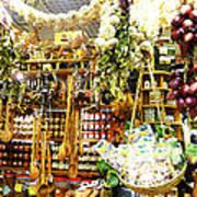 Florence Market Art Print