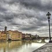 Florence Old Bridge Art Print