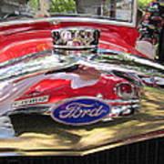 Ford Classic Car  Art Print