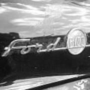 Ford F100 Art Print