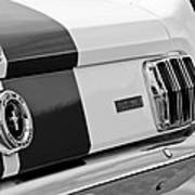 1966 Ford Shelby Mustang Gt 350 Taillight Art Print