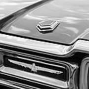 Ford Thunderbird Tail Lights Art Print