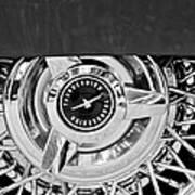Ford Thunderbird Wheel Emblem Art Print