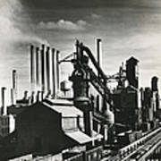 Ford's River Rouge Plant Art Print