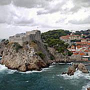 Fort Lovrijenac - Dubrovnik - Croatia Art Print