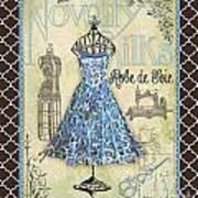 French Dress Shop-b1 Art Print