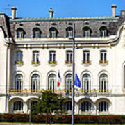 French Embassy In Vienna Art Print