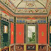 Fresco Decoration In The Summer House Art Print