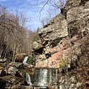 Fresh Water Streams Around Poconos Pa America Usa  Art Print