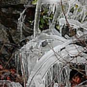 Frozen V Art Print