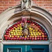 Fruit Door Covering Art Print